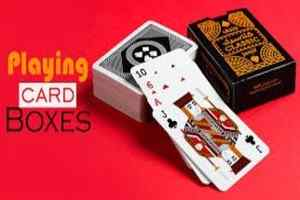 How To Print Custom Playing Card Boxes for Boosting Your Business