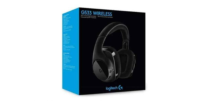 Logitech G533 Wireless Gaming Headphone Test and Review
