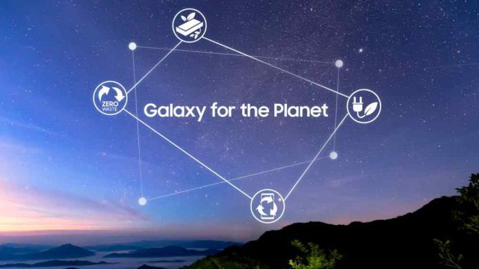 Samsung New Sustainability Vision Galaxy For the Planet