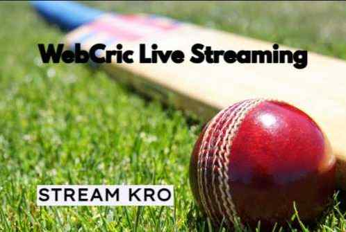 Webcric Live Streaming